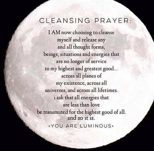 TRUTH - PRAYER OF CLEANSING - SATURDAY