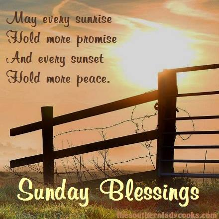 SATUERDAY - LOVE - BLESSINGS - SUNDAY BLESSINGS